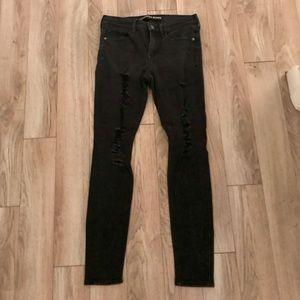 Express black jeans